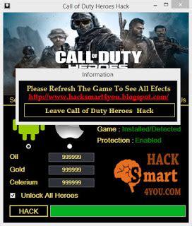 tutorial hack call of duty heroes call of duty heroes hack oil gold celerium unlock heroes