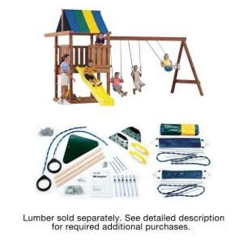 swing n slide wrangler cube climber slide playset playground indoor step2 step 2