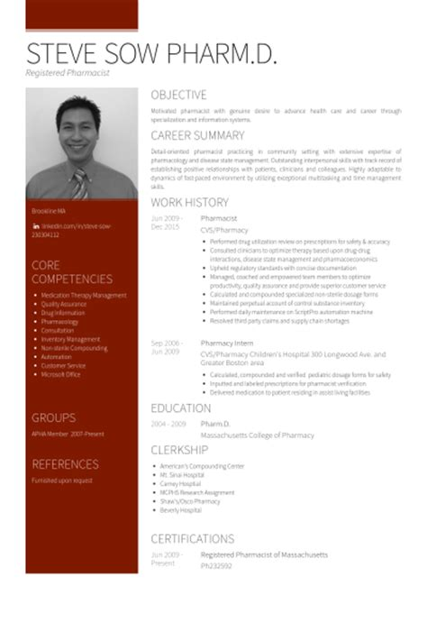 pin retail pharmacist resume sle on