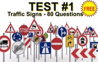 This practice exam about traffic signals consists of 80 multiple