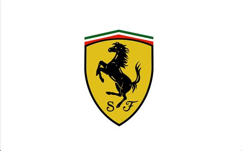 ferrari logo black and white scuderia ferrari logo white background 1920x1200 wide