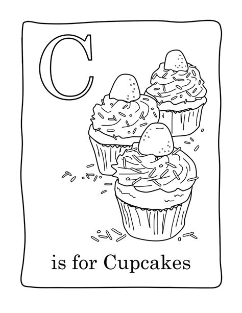 coloring pages free cupcake free printable cupcake coloring pages for