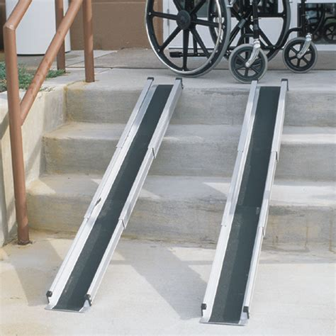 duro med  foot telescoping adjustable wheelchair ramp walgreens
