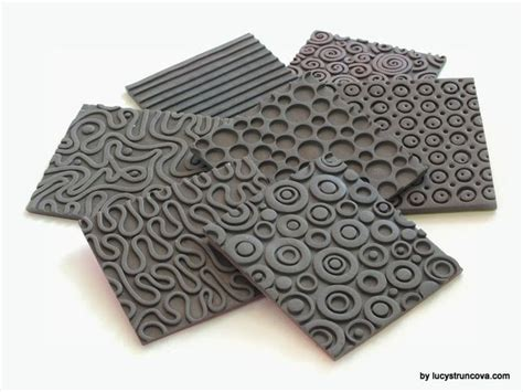 Fimo Texture Sheet 308 best images about polymer clay on polymers choker and polymer clay earrings