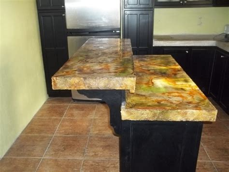 Acid Stain Concrete Countertop by Acid Stain Concrete Counter Top Other By Decor Spaces