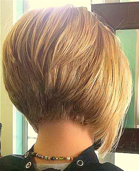 short stacked haircuts for fine hair that show front and back stacked bob haircut bob haircuts for fine hair inverted