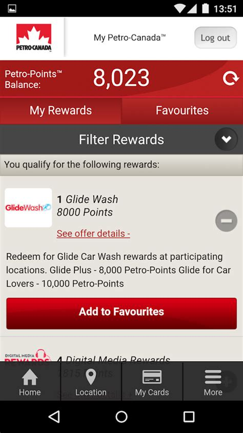 Balance On My Petro Canada Gift Card - petro canada android apps on google play