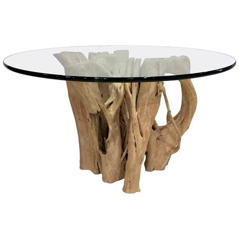cypress tree trunk dining table by michael at 1stdibs