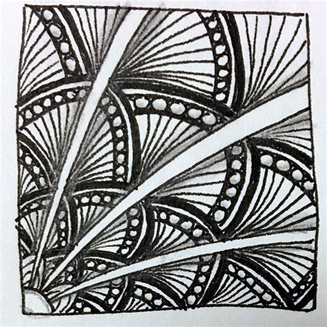 pattern ea page 3 tutorial how to draw the zentangle pattern shattuck