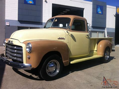 chevrolet gmc 1951 5 window cab