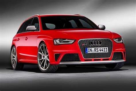 audi rs4 new new audi rs4 avant revealed pictures evo