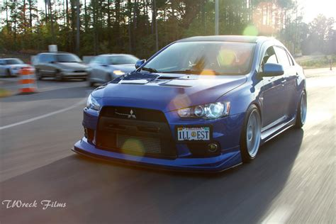 badass evo car of the day s badass evo x