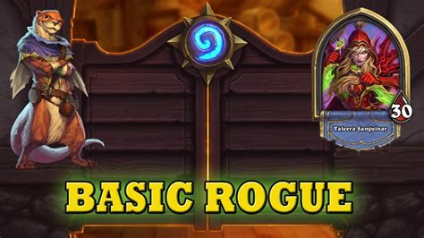 basic rogue deck hearthstone deck guide starter rogue basic cards only