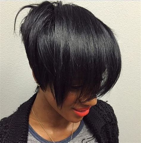 black women with stacked bob 60 showiest bob haircuts for black women