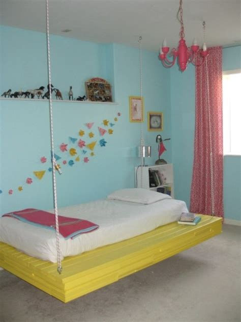 hanging beds 9 cool suspended beds for a kids bedroom kidsomania
