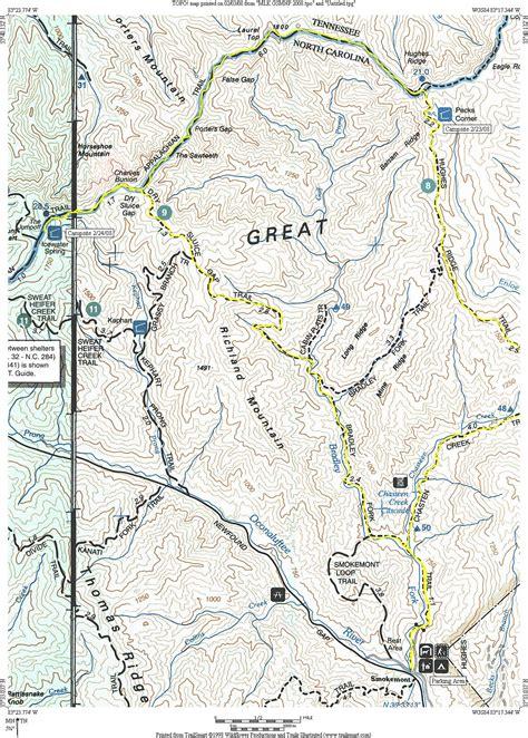 gsmnp trail map smokies in february html autos post