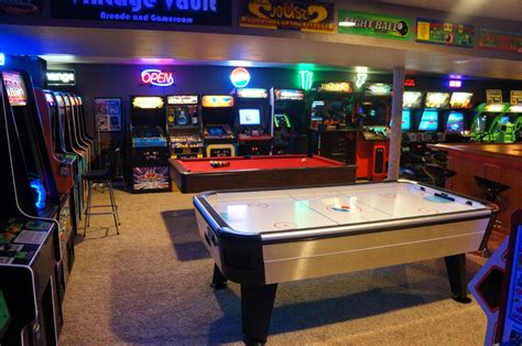 arcade air hockey table the basement arcade