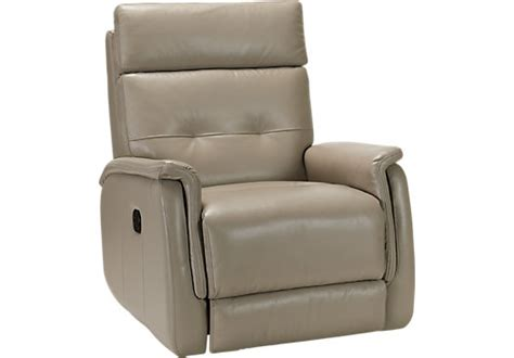 cindy crawford recliner cindy crawford home adelino gray leather recliner