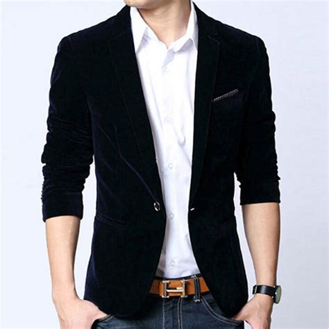 Sheer Plain Blazer In Black mens blazers fashion ql