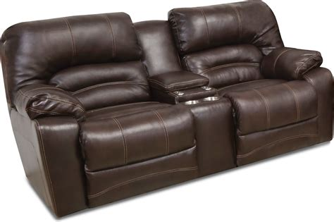 Chocolate Brown Leather Power Reclining Sofa Loveseat Brown Leather Reclining Sofa And Loveseat