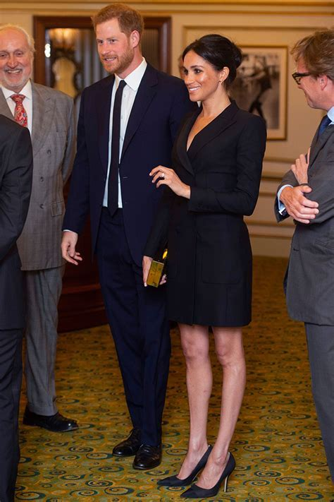 Meghan Markle in Judith and Charles Paul Andrew and Shaune
