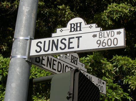 Pch And Sunset Blvd - sunset boulevard