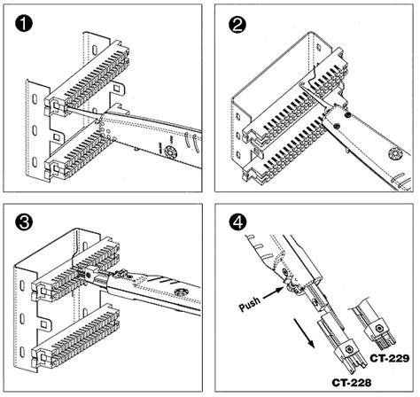 bix block wiring diagram 28 images ct 228 punchdown