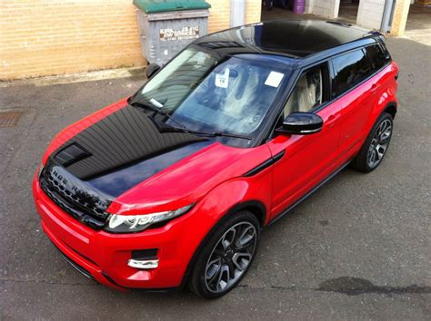 wrapped range rover evoque window tinting specialists in huddersfield and rochdale