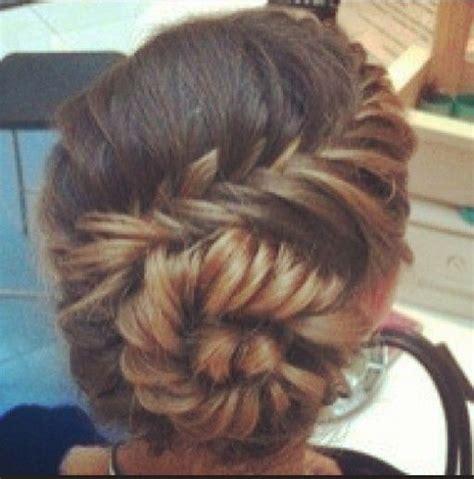 braids too big for bun instagram insta glam fishtail braid buns beautiful my