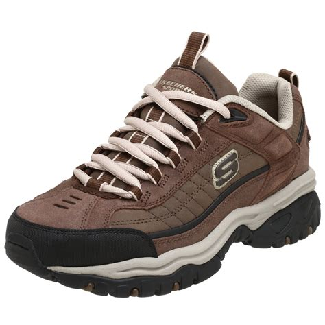 sketchers shoes skechers s energy downforce lace up brown sneakers