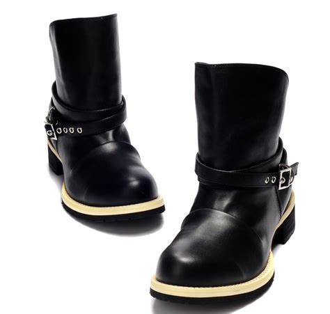 mens boots with 2012 mens boots fashion genuine leather rainboots