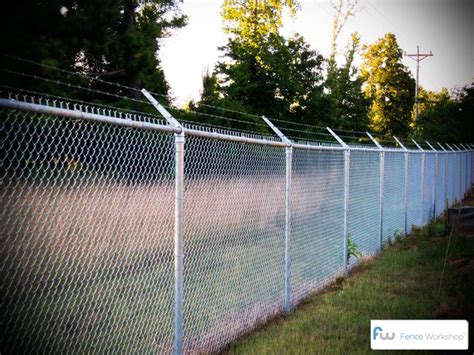Commercial Chain Link Fence Parts Fence Extensions