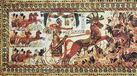 Ancient Egyptian Wall Murals civilization or barbarism weaponry from kemet to the