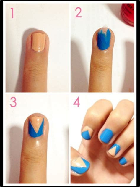 easy nail art procedure easy nail art step by step how you can do it at home