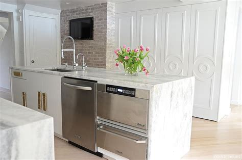 kitchen island with microwave drawer kitchen island with warming drawer and microwave drawer
