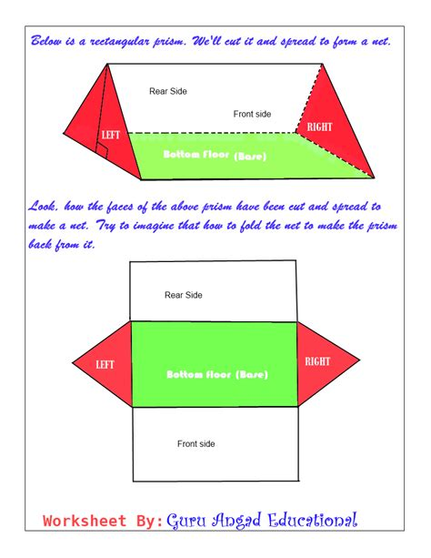 How To Make A Triangular Prism Out Of Paper - triangular prism net exles learn how to draw the net