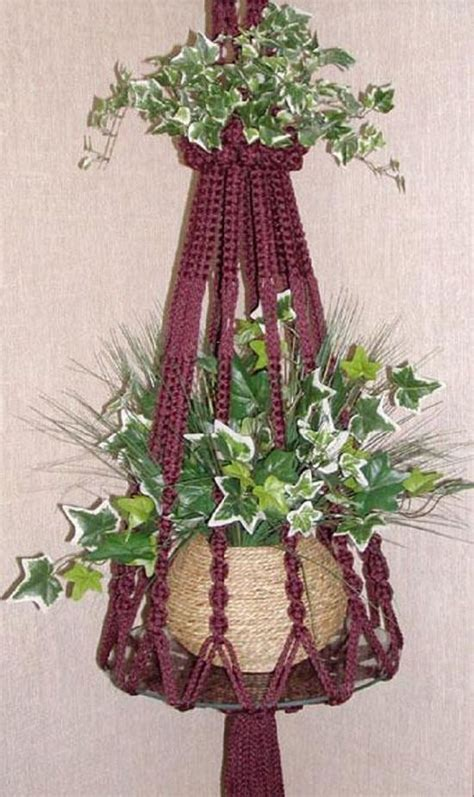 How To Make A Macrame Plant Holder - 23 most amazing macrame plant hangers diy ideas balcony