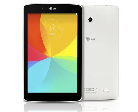 Tablet Lg lg g pad 7 0 8 0 and 10 1 tablets revealed android