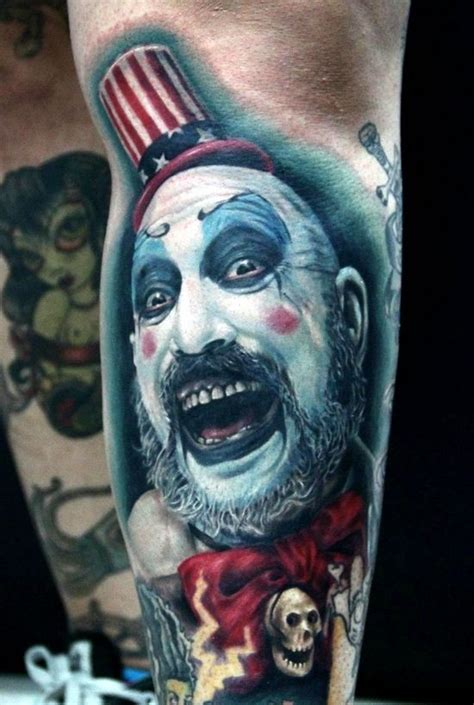 joker tattoo movie horror movie like colored evil joker tattoo on arm