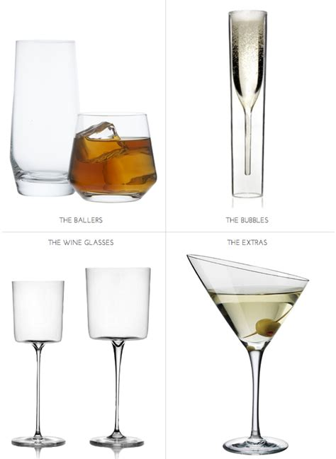 cool glassware building the perfect home bar the glassware bar tools