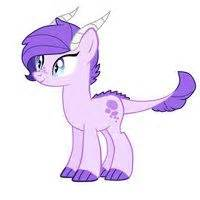 Claire daughter of rarity and spike someone made a bunch of awesome