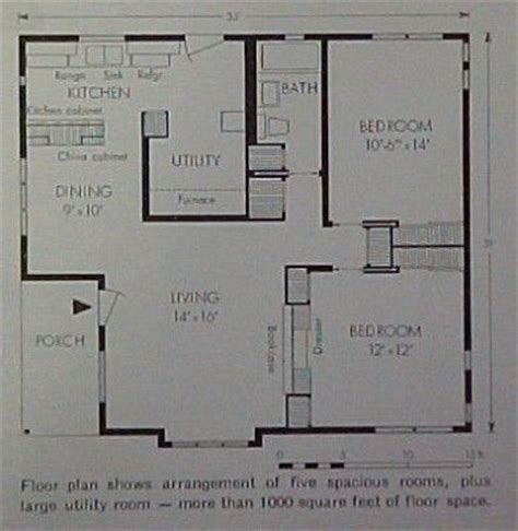 lustron home floor plan house plans