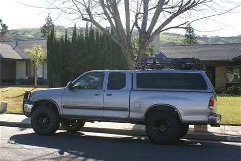 Truck Cap Roof Rack by Leer Truck Cap W Defender Roof Rack Ih8mud Forum