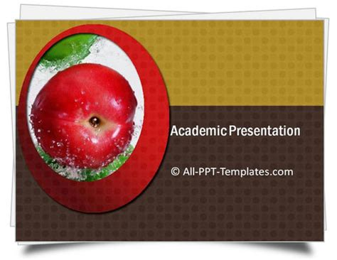 Academic Presenter Academic Presentation Template