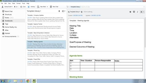 evernote meeting notes template how to save time with templates evernote help learning