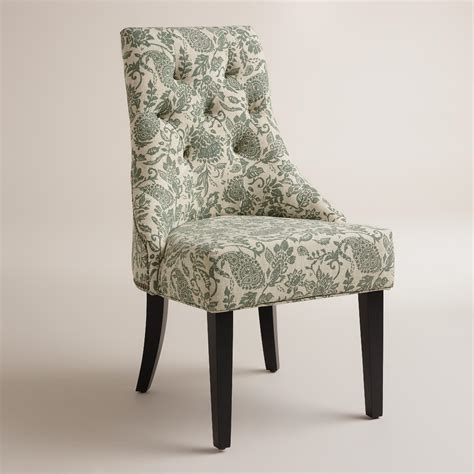 Lydia Dining Chairs Bliss Paisley Lydia Chairs Set Of 2 World Market