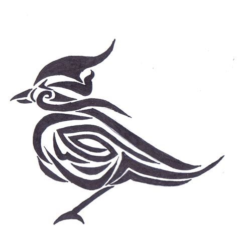 tribal birds tattoos gallery tribal bird