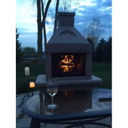 see thru outdoor wood burning fireplace by mirage