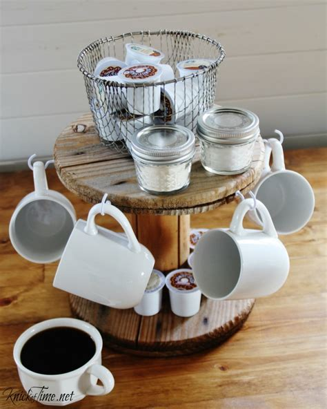 Mini Bar Stand by 21 Diy Coffee Racks To Organize Your Morning Cup Of Joe