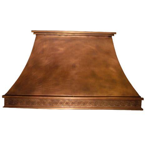 decorative range hoods range hoods chdecc i decorative curve copper island